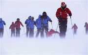 Harry Reaches South Pole