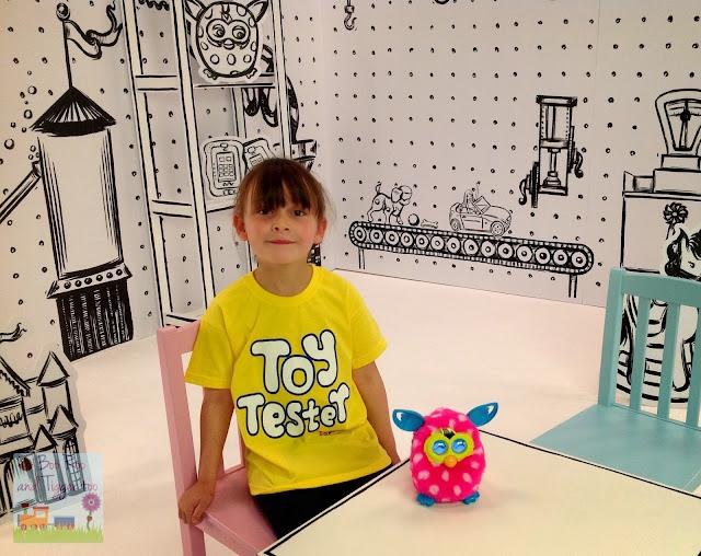 Tesco Toy Team 2013 - Roo and Furby Boom Sunny