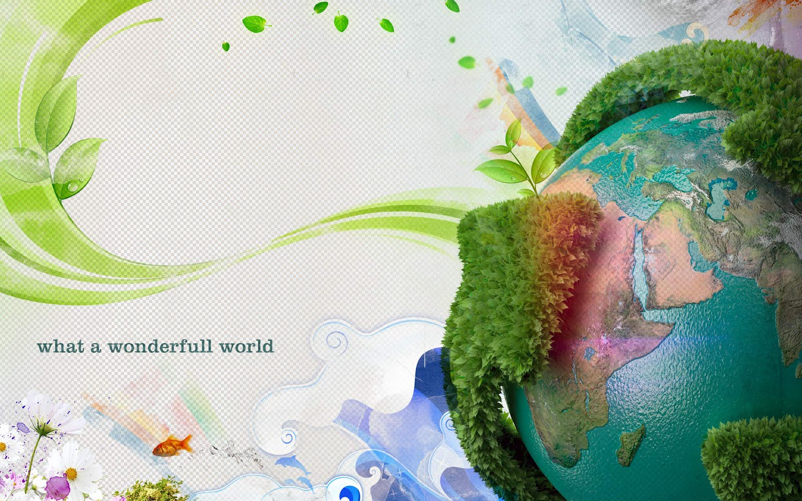Earth Day 2012 PowerPoint Background Free Download | PPT Bird – I ...
