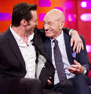 Hugh Jackman and Patrick Stewart cried side by side when final credits rolled at LOGAN premiere