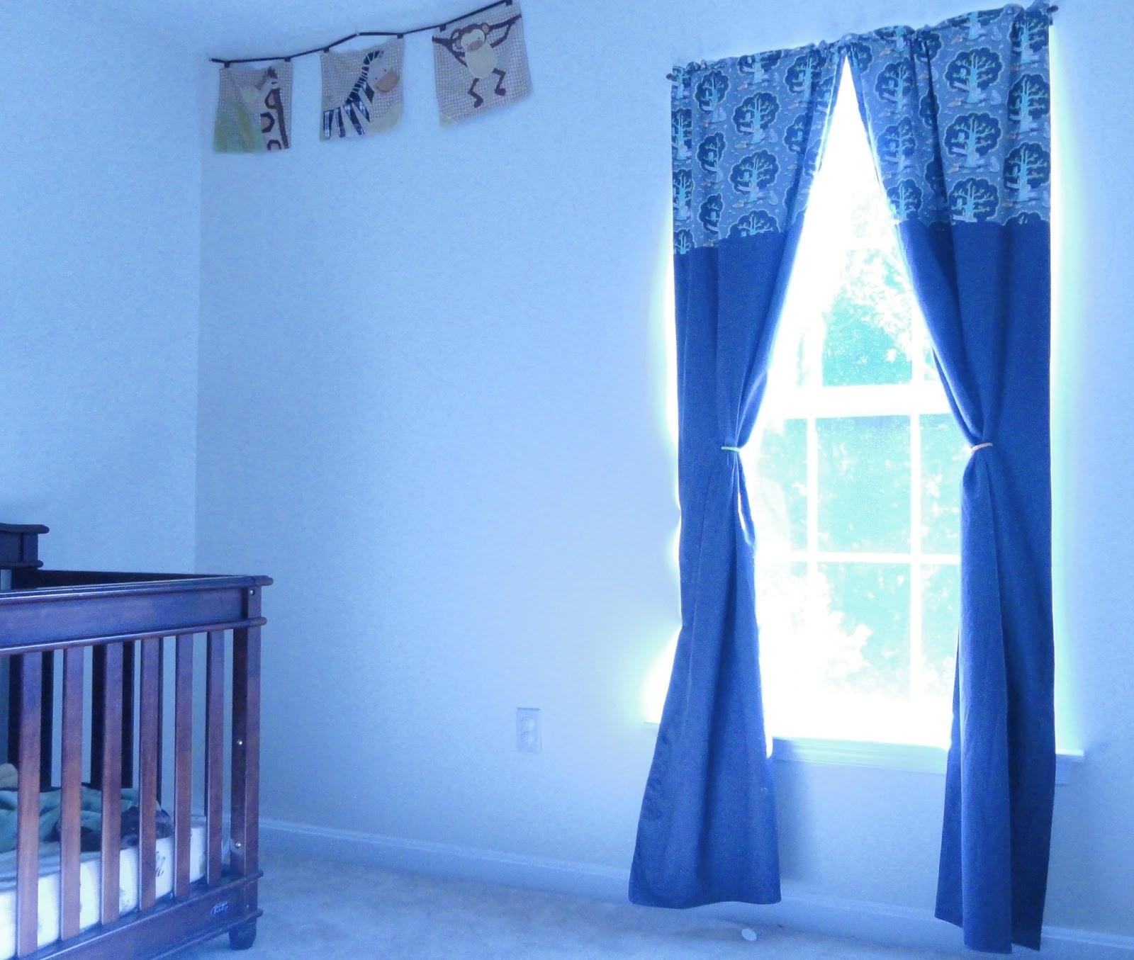 Nursery Makeover Part Iii Blackout Curtains Diy Danielle