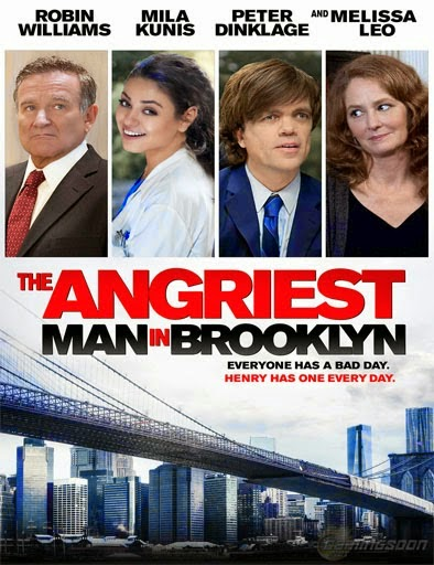 The Angriest Man in Brooklyn 2014 HDRip 480p 300mb