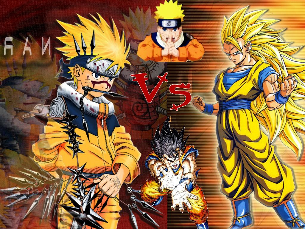 naruto vs dragon ball games
