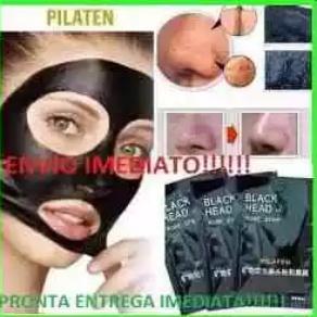 Máscara Negra Removedora De Cravos Pilaten 07 Sachês