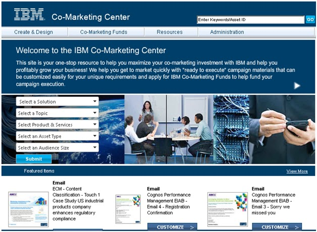 IBM Co-Marketing Center