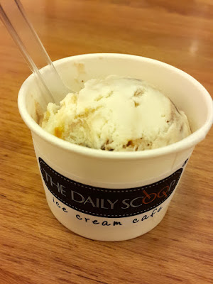 Rum and Raisin Ice Cream at the Daily Scoop