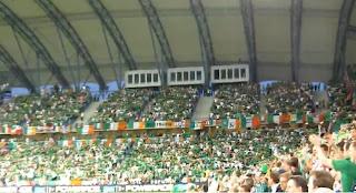Irlanda haciendo el Poznan, Ireland Poznan 2012, Euro