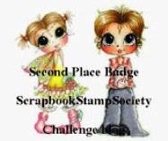 """TOP 3 Scrapbook Stamp Socytie op 03-03 2019 (#158) """"With Love"""""""