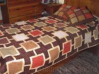 Quilt de cama Capuccino