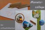 Monats-Collage