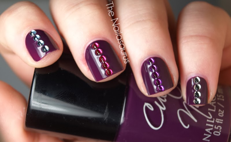 Nail Art with Gems Ideas | Fashionate Trends