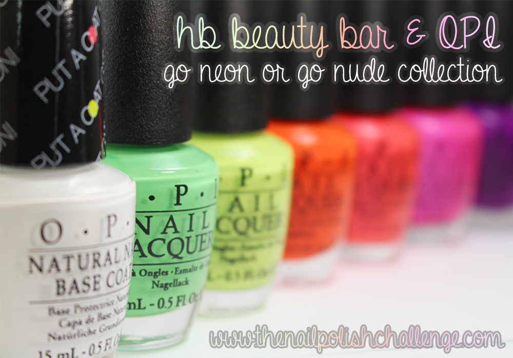 OPI Go Neon or Go Nude