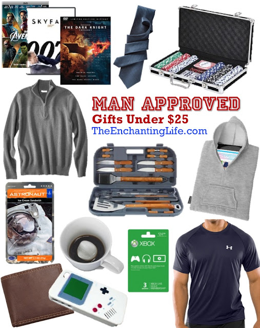 affordable men's valentine gift ideas under $25