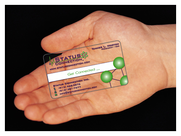 What you need to know about business cards get creative blog creative printing of bay county panama city florida business cards clear plastic reheart Image collections