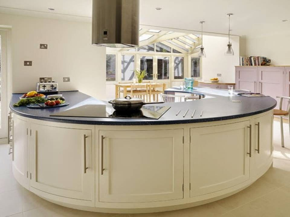 home decor white curved kitchen ideas