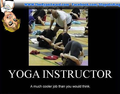 Best Job In the World - Yoga Instructor