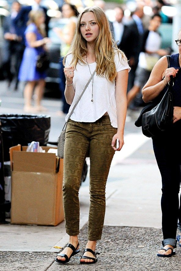 Amanda Seyfried Birkenstocks