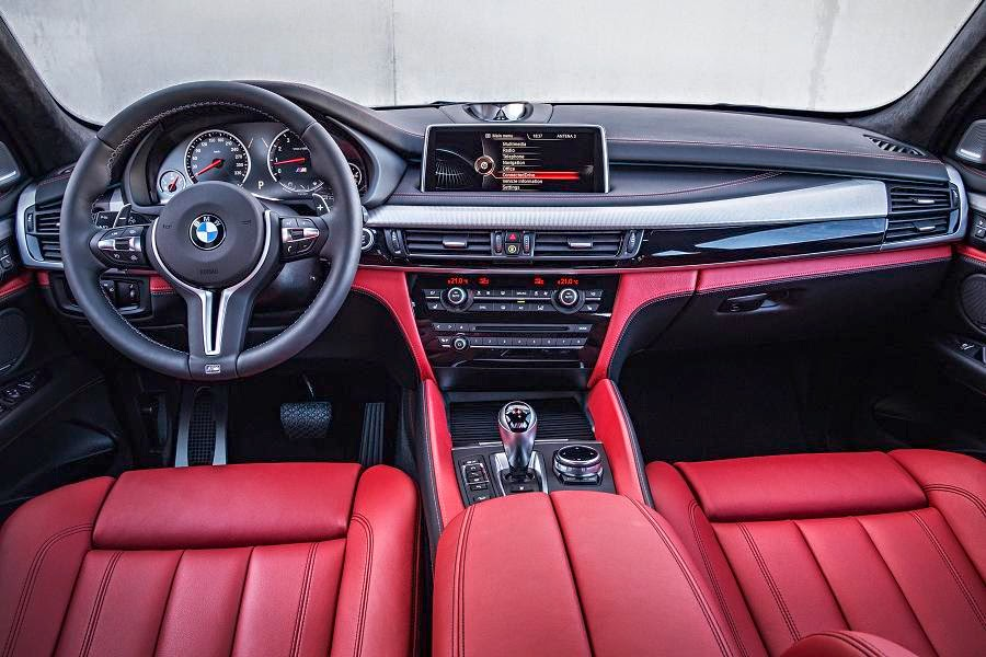 BMW X5 M (2015) Dashboard