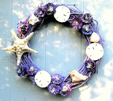 homemade wreath