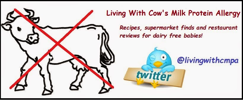 Shop dairy free, living with cow's milk protein allergy