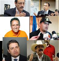 Precandidatos presidenciales de Honduras
