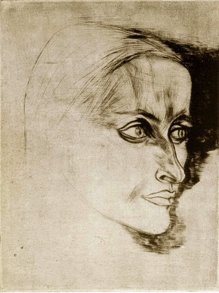 KAETHE KOLLWITZ.  1951,  by Carl Zigrosser