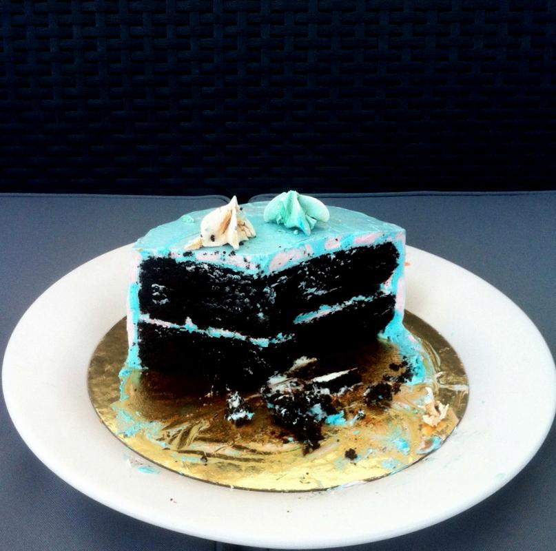 Layer Cake de Chocolate y SMBC de Vainilla