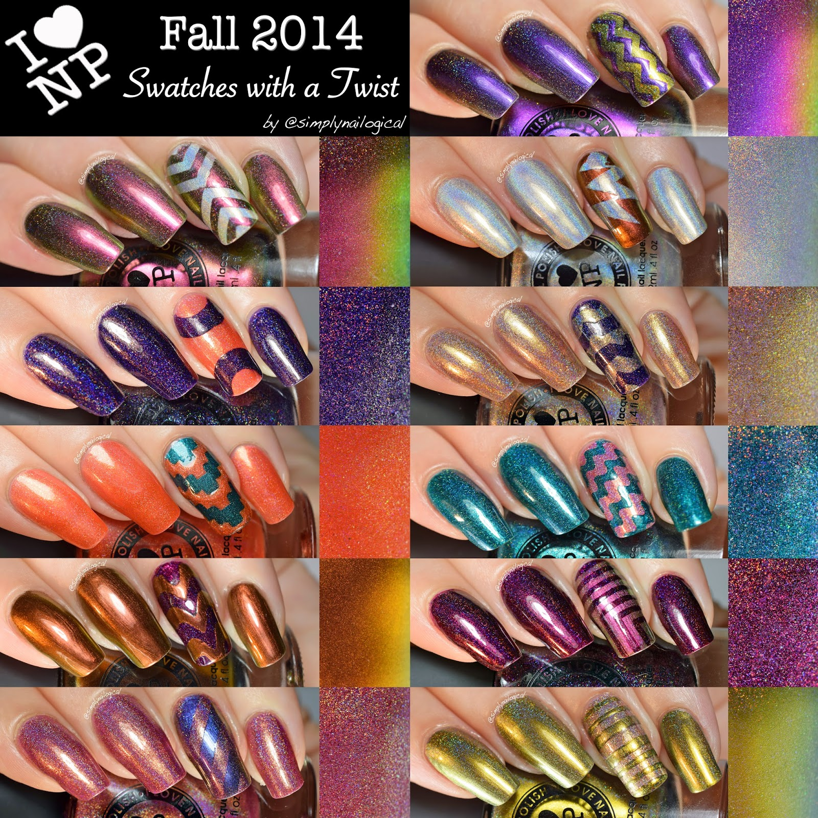 ILNP Fall 2014 collection swatches