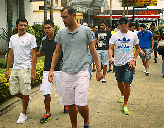 Oriente Petrolero - Pablo De Muner, Jonathan Delgadillo, Mariano Brau - DaleOoo.com web del Club Oriente Petrolero