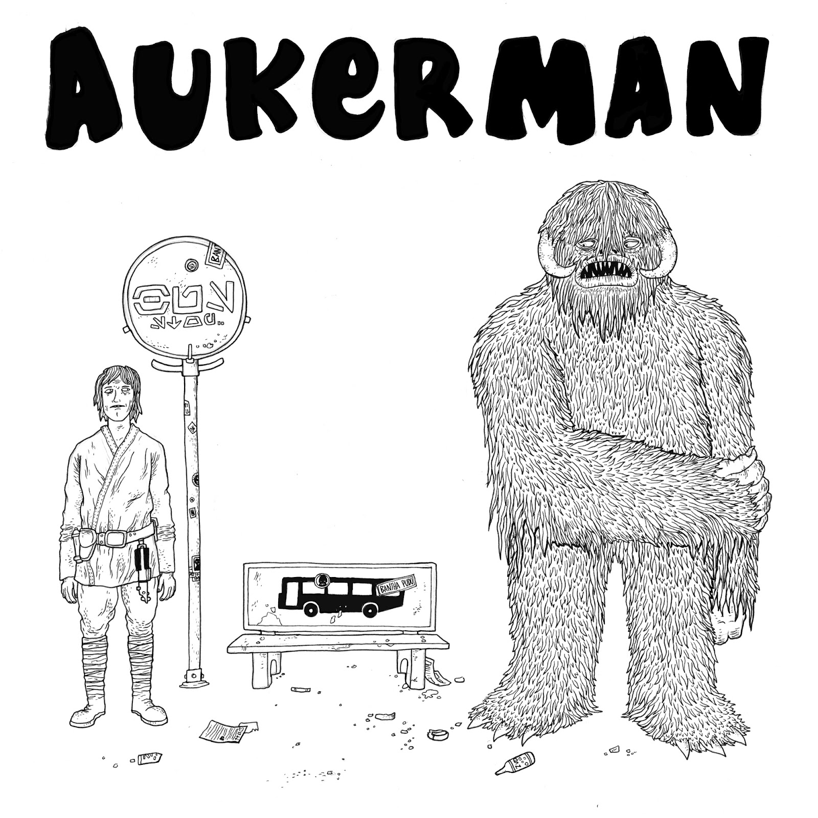 Heavy Giant Press T Shirt Design For The Band Auckerman