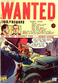 Wanted 17 cover: Heber Ayers