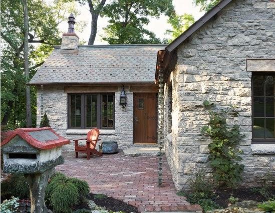 Fachadas de piedra dise os de casas con fachadas de piedra - Tipos de piedras para fachadas ...