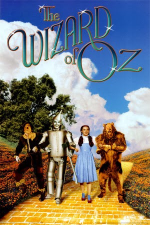 The Wizard Of OZ Judy Garland Ray Bolger 1939
