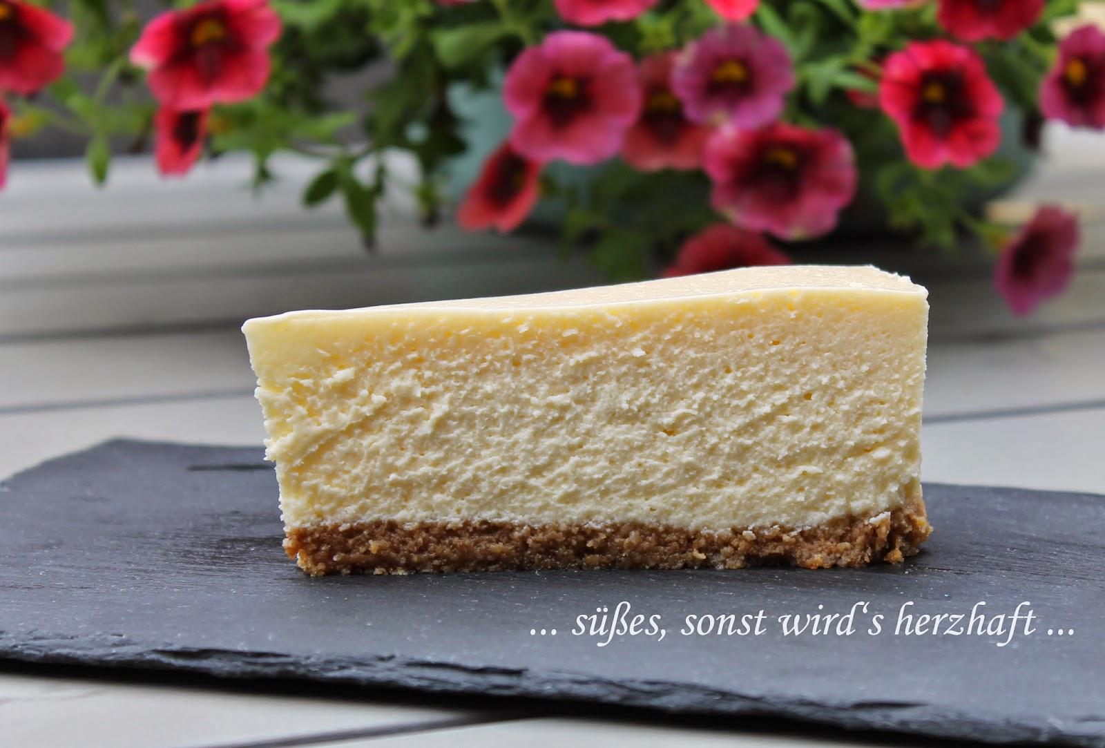 süßes sonst wird\'s herzhaft..: New York Cheesecake a la Martha Stewart