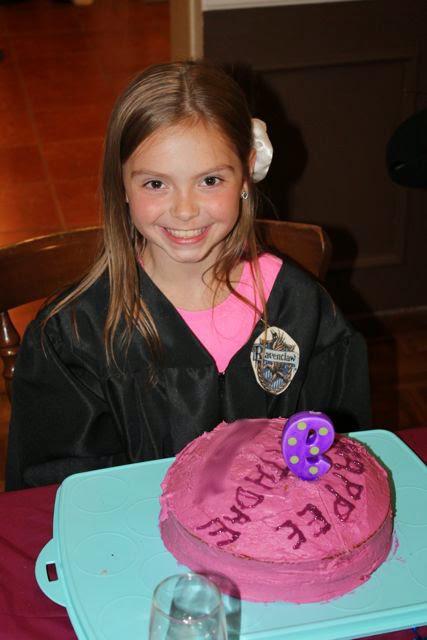 Harry Potter Birthday Cake from Hagrid via www.happybirthdayauthor.com