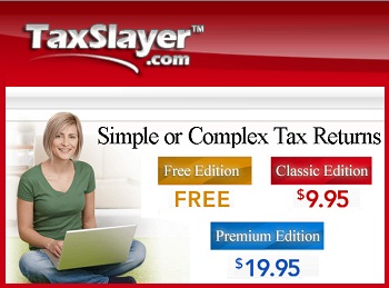 TaxSlayer.com: e-Filing of taxes Made Easy!