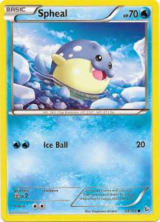 Spheal Primal Clash Pokemon Card