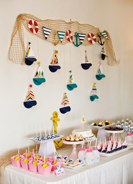 tortas infantiles marineras o nauticas imagui On decoracion marinera infantil