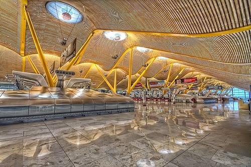 El aeropuerto de Barajas en Madrid