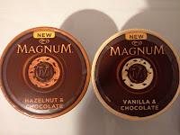Hazelnut & Chocolate und Vanilla & Chocolate Haselnuss, Vanille, Schokolade