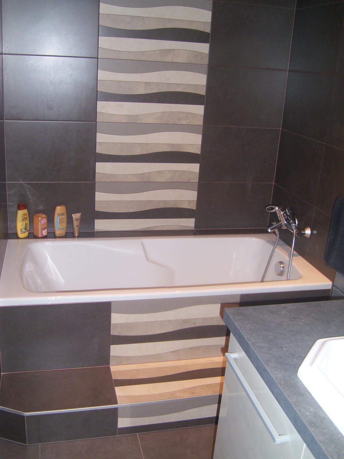 Salle de bain taupe et beige for Salle de bain beige