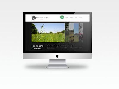 Création Site internet HTML Responsive pour le Mas Regardevenir