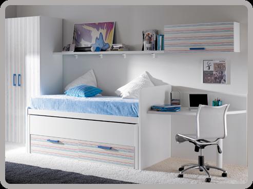 Dormitorio juvenil i decoracion y manualidades - Habitaciones juveniles el corte ingles ...