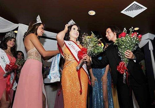natasha sibaja crowned miss international costa rica 2012