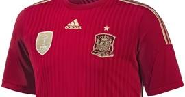 Camiseta de la Selección Española para el Mundial 2014 ...
