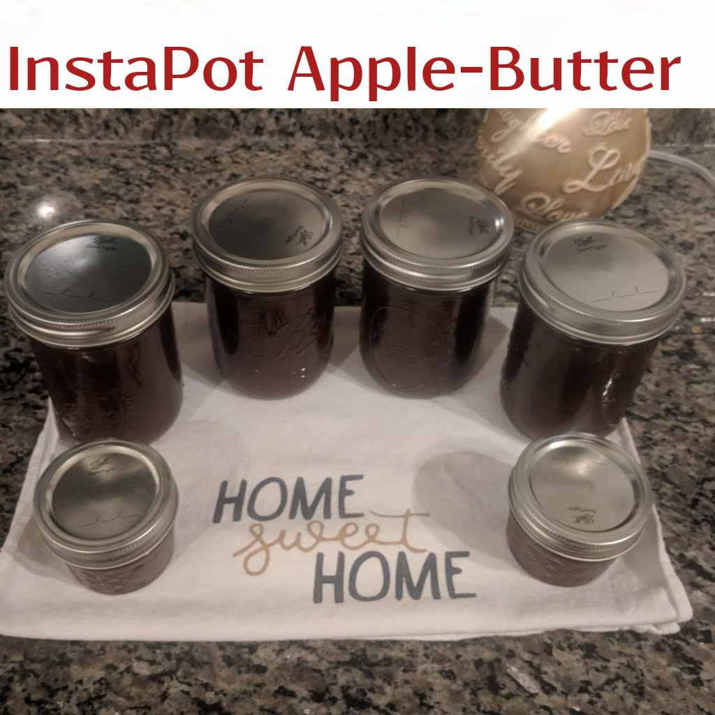 Easy Instapot Apple Butter in Less than an Hour!!
