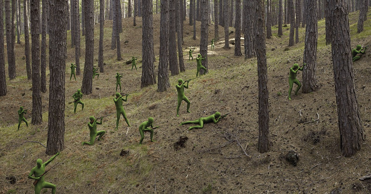 How to create a zentai army