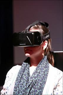 Oculus Rift headset image by Rebke Klokke