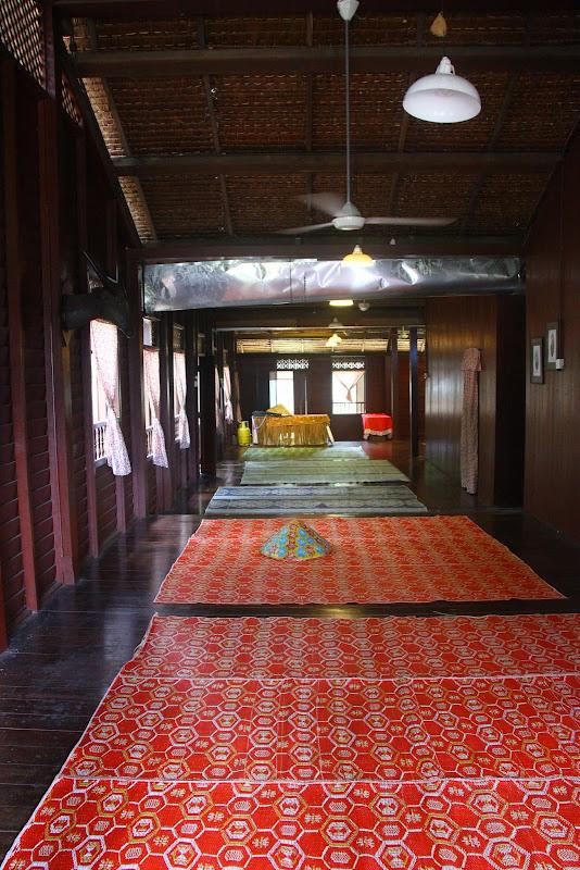 Ruang tamu Rumah Selangor sangat luas