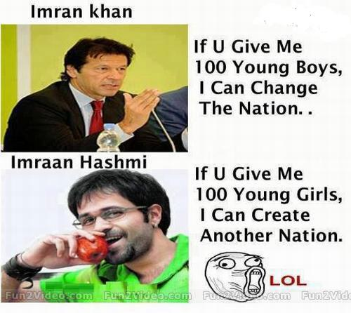 Imran Khan VS Imraan Hashmi | Cricket Joke